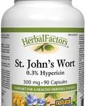 Natural Factors Natural Factors Herbal Factors St. John's Wort 300 mg 90 caps