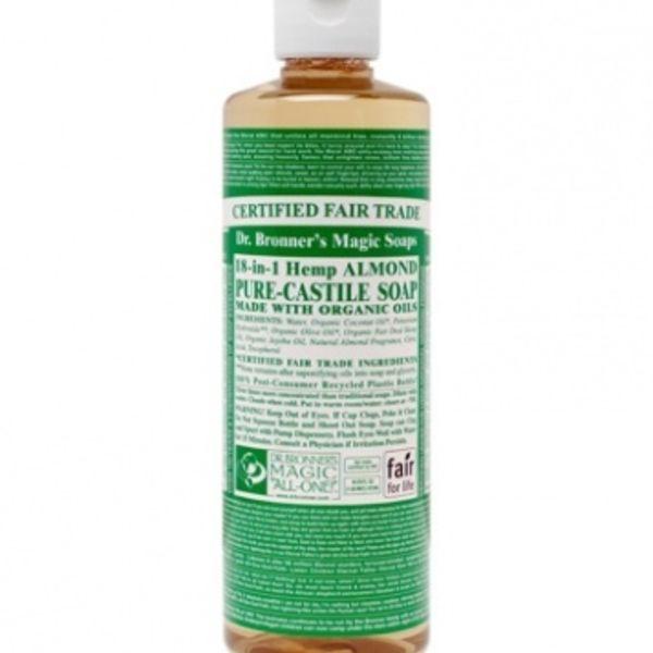 Dr. Bronner's Dr Bronner's Almond Oil Castile Soap Liquid 16oz