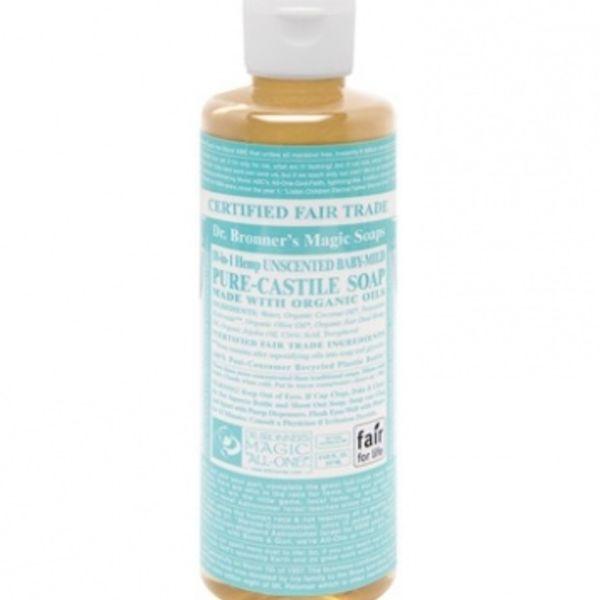 Dr. Bronner's Dr Bronner's Baby-Mild Castile Soap Liquid 8oz