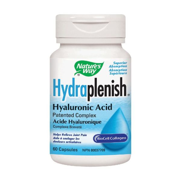 Natures Way Hydraplenish Hyaluronic Acid 60 caps