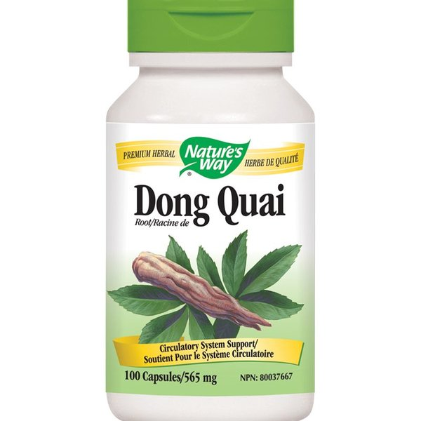 Natures Way Dong Quai 100 caps