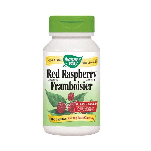 Natures Way Red Raspberry 100 caps