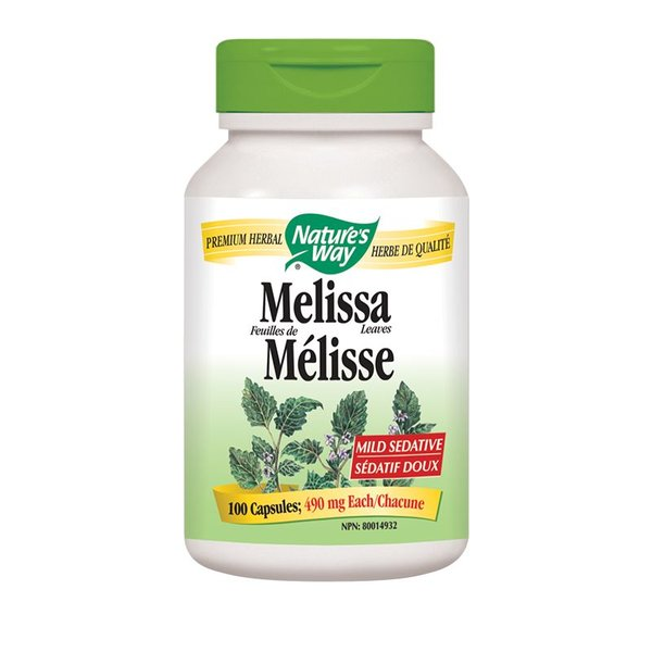 Natures Way Melissa 100 caps