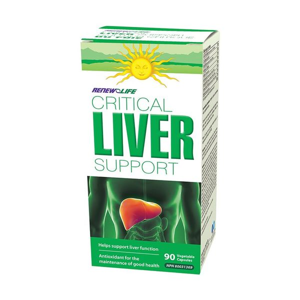 Renew Life Renew Life Critical Liver Support 90 vcaps