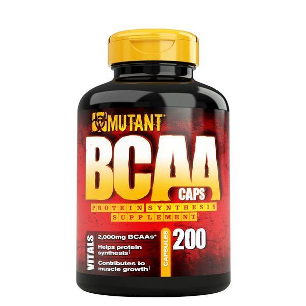 Mutant Mutant BCAA 200 caps