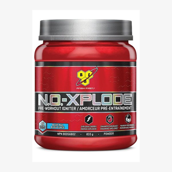 BSN BSN NoXplode 2.0. Blue Raspberry 45 servings 833g