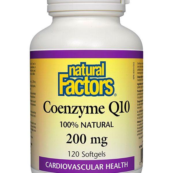 Natural Factors Natural Factors Coenzyme Q10 200 mg 120 softgels