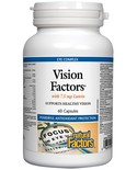 Natural Factors Natural Factors Vision Factors with 7.5 mg Lutein 60 caps