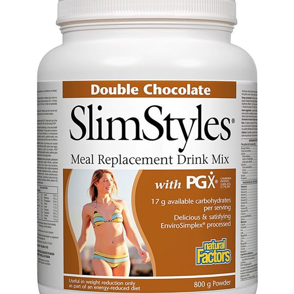 Natural Factors Natural Factors SlimStyles Double Chocolate 800g