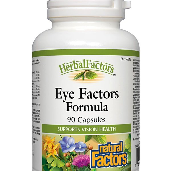 Natural Factors Natural Factors Herbal Factors Eye Factors Formula 90 caps