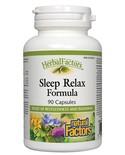 Natural Factors Natural Factors Herbal Factors Sleep Relax Formula 90 caps