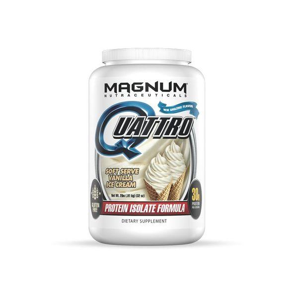 Magnum Nutraceuticals Magnum Quattro Vanilla Ice Cream 2lb