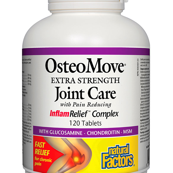 Natural Factors Natural Factors OsteoMove Extra Strength Joint Care 120 tabs