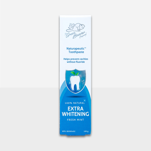 Green Beaver Green Beaver Naturapeutic Toothpaste Extra Whitening Fresh Mint 100g
