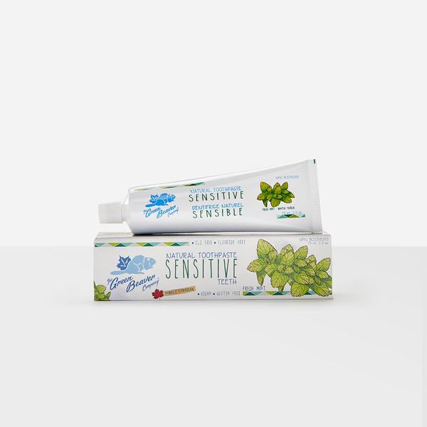 Green Beaver Green Beaver Sensitive Toothpaste 75ml