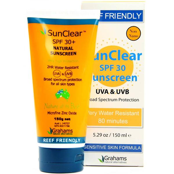 Grahams Natural Grahams Natural SunClear Sunscreen SPF 30 150ml