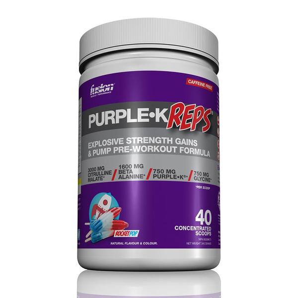 Fusion Bodybuilding Fusion Purple K Reps Rocket Popsicle 40 servings