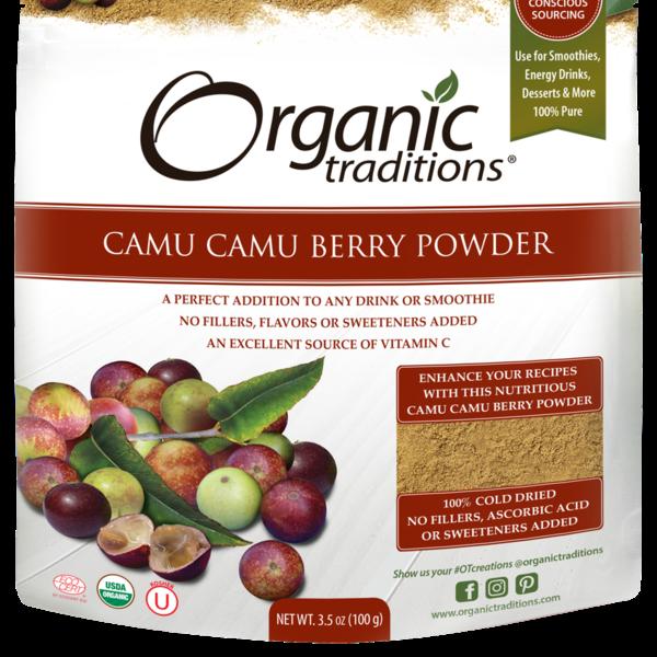 Organic Traditions Organic Traditions Camu Berry Powder 100g