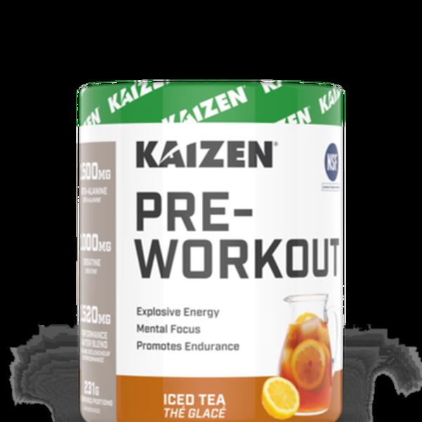 Kaizen Kaizen Naturals Pre-Workout Iced Tea 231g