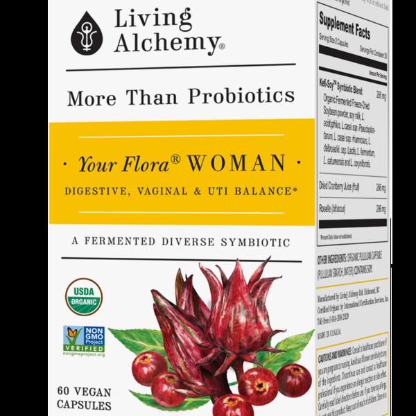 Living Alchemy Living Alchemy Your Flora Woman 60 cap