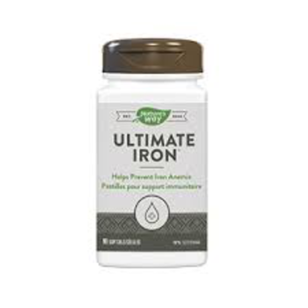 Enzymatic Therapy Natures Way Ultimate Iron Complex 90 softgels
