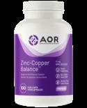 AOR AOR Zinc-Copper Balance 17mg 100 vcaps