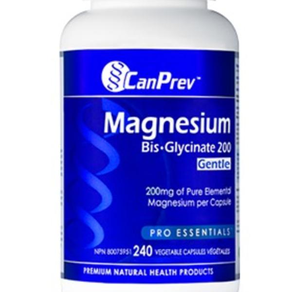 CanPrev CanPrev Magnesium Bis-Glycinate 200mg 240 Vcap