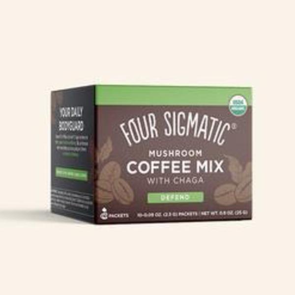 Four Sigmatic Four Sigmatic Mushroom Coffee with Cordyceps and Chaga 10 X 2.5g
