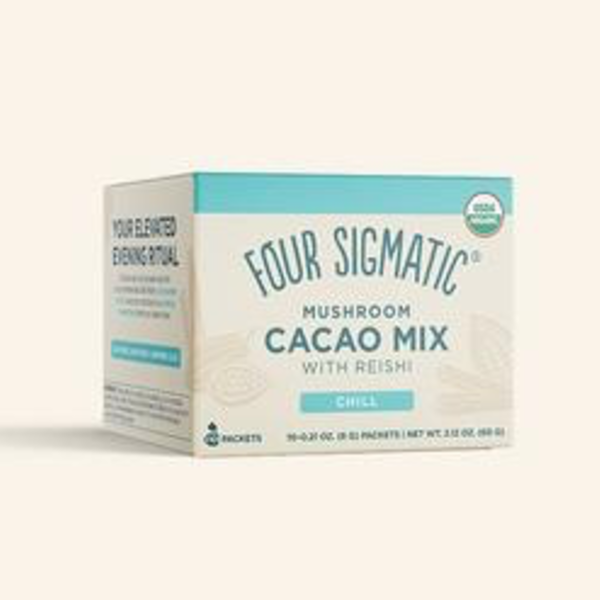 Four Sigmatic Four Sigmatic Mushroom Hot Cacao Mix Chill with Reishi 10 X 6g