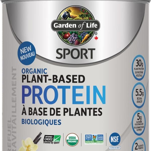 Garden of Life Garden of Life Organic Plant Based Sport Protein Vanilla 806g
