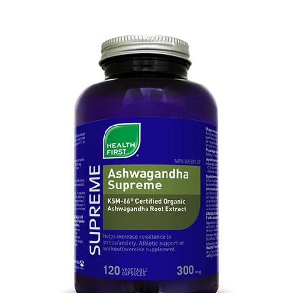 Health First Health First Ashwagandha Supreme 120 caps