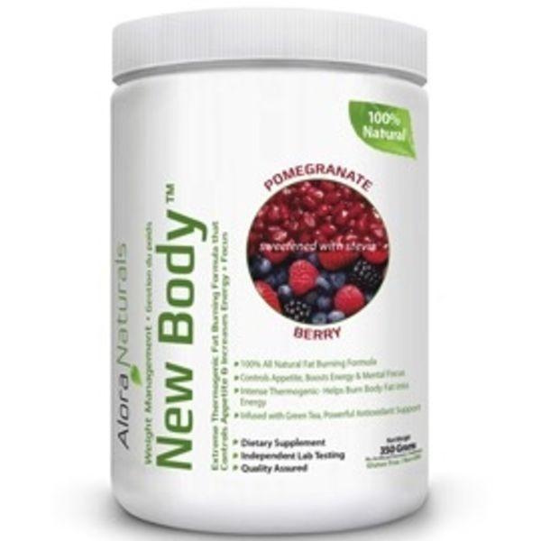 Alora Naturals Alora Naturals New Body Pomegranate Berry 262.5g