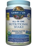 Garden of Life Garden of Life Raw Organic All in One Nutritional Shake Vanilla 969g