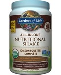 Garden of Life Garden of Life Raw Organic All in One Nutritional Shake Chocolate Cacao 1017g