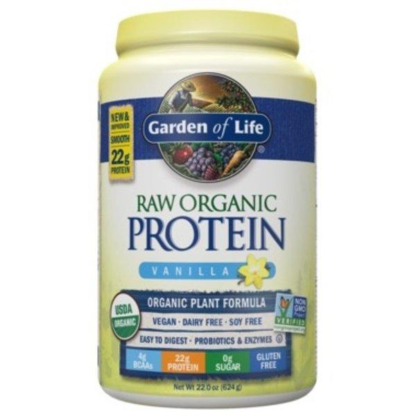 Garden of Life Garden of Life Raw Organic Protein Vanilla 620g