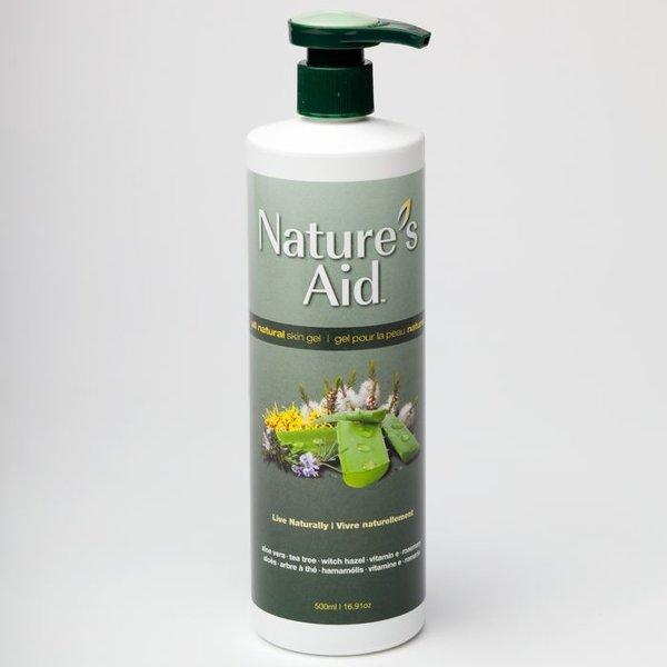 Natures Aid All-Natural Skin Gel 500ml