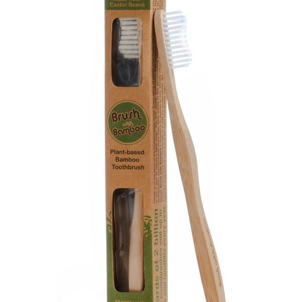 Brush with Bamboo Brush with Bamboo Toothbrush Adult