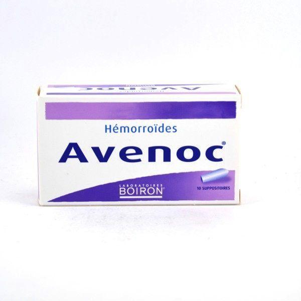 Boiron Boiron Avenoc Suppositories Hemorrhoids 10