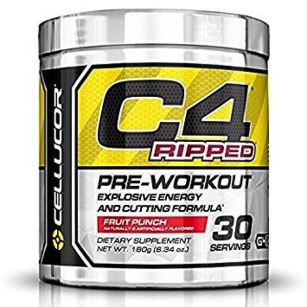 Cellucor Cellucor C4 Ripped Fruit Punch 30 servings