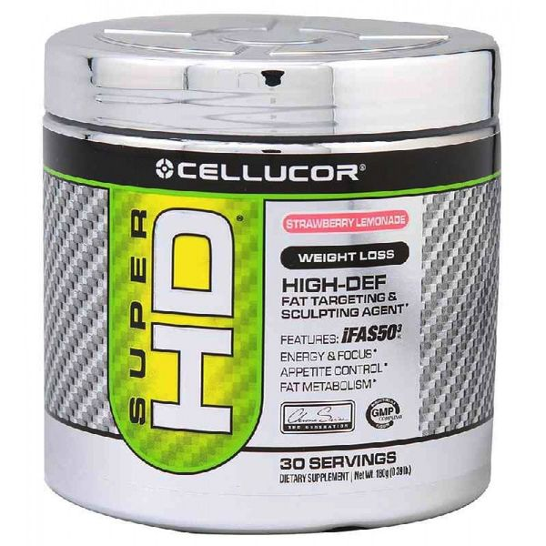 Cellucor Cellucor Super HD Powder Strawberry Lemonade 180g
