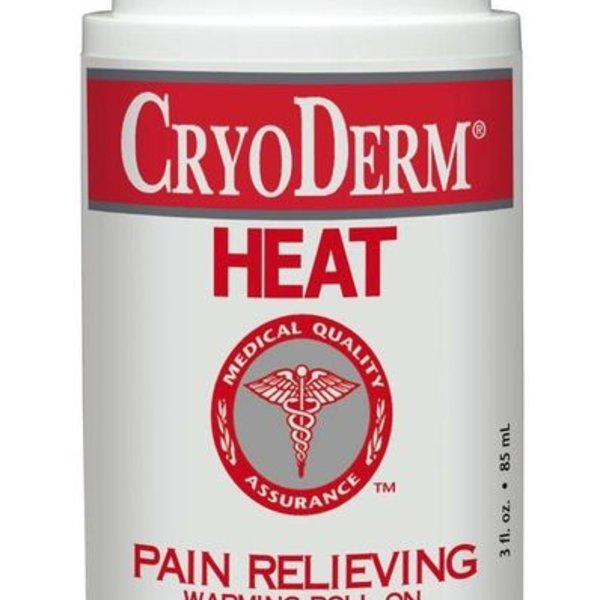 Cryoderm Cryoderm Heat Roll on 3oz