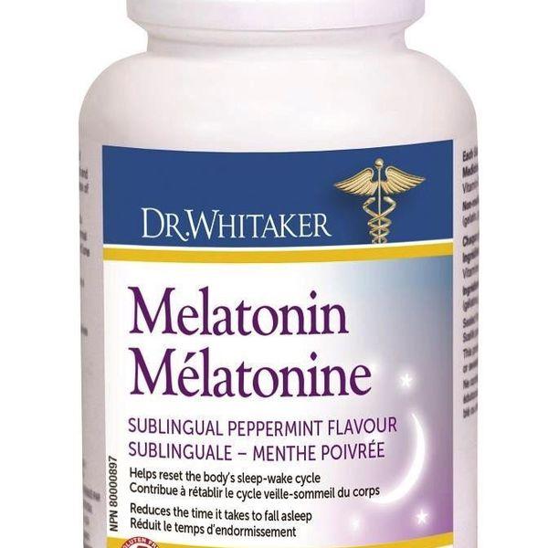Dr. Whitaker Dr. Whitaker Melatonin 3mg 60 tabs