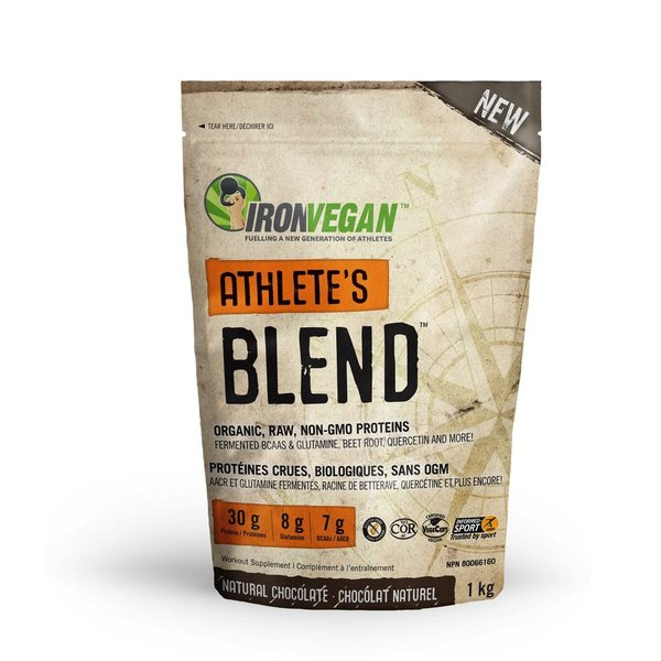 Iron Vegan Iron Vegan Athlete's Blend Chocolate 1kg