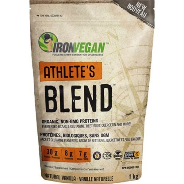 Iron Vegan Iron Vegan Athlete's Blend Vanilla 1kg