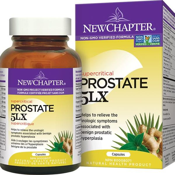 New Chapter New Chapter Prostate 5LX 120 vcaps