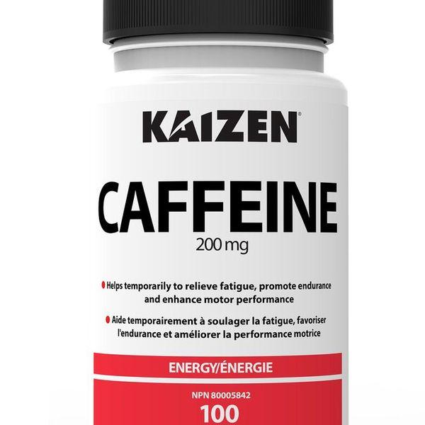 Kaizen Kaizen Caffeine 200mg 100 tab