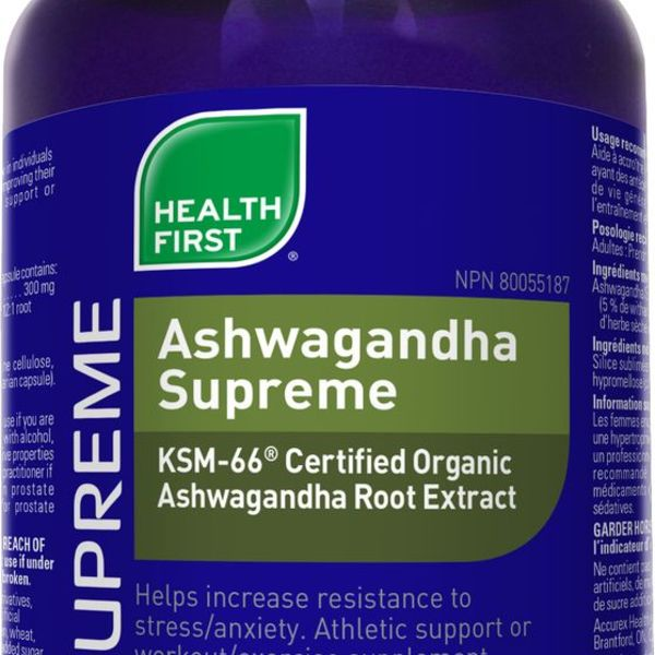 Health First Health First Ashwagandha Supreme 60 caps