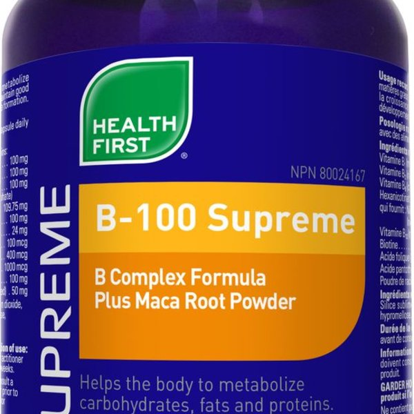 Health First Health First B-100 Supreme 60 caps