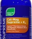 Health First Health First Cal-Mag Supreme + K2 450 ml Lemon Lime