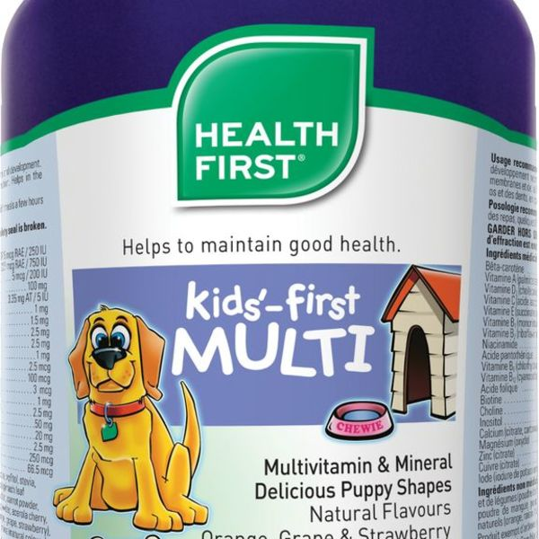 Health First Health First Kids'- First Multivitamin & MIneral 120 Chewable tabs